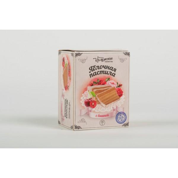 Яблочная пастила с Вишней, 200 гр.