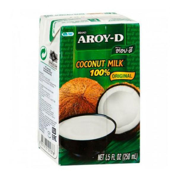 """Кокосовое молоко """"AROY-D"""" 250 мл"""