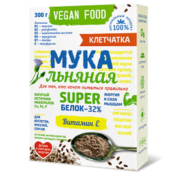 Мука льняная Vegan Food 0,3кг