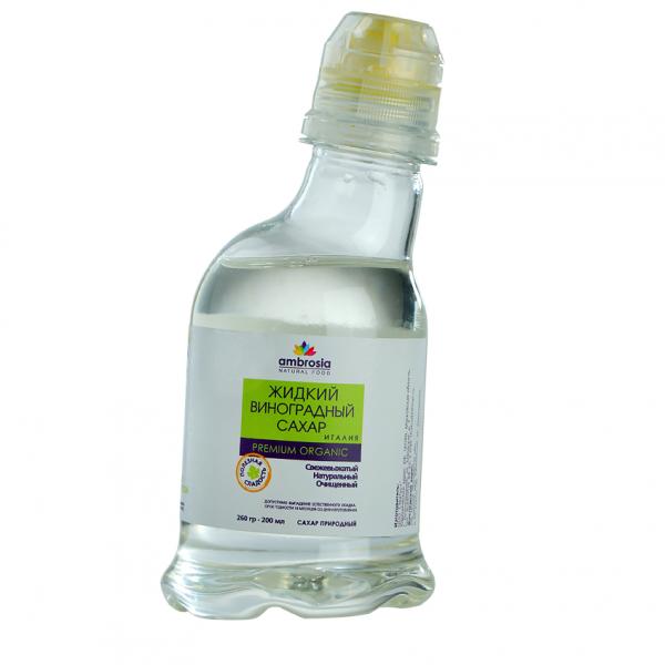 Сахар виноградный жидкий. 200 мл Ambrosia