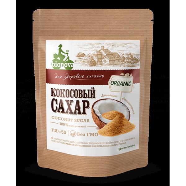 Кокосовый сахар органический Bionova®, 200 г