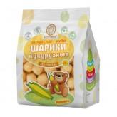 Завтраки сухие — Шарики кукурузные «Здоровей» без сахара, без глютена, 30 г