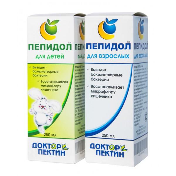 Пепидол 5% для взрослых во флаконе,100мл