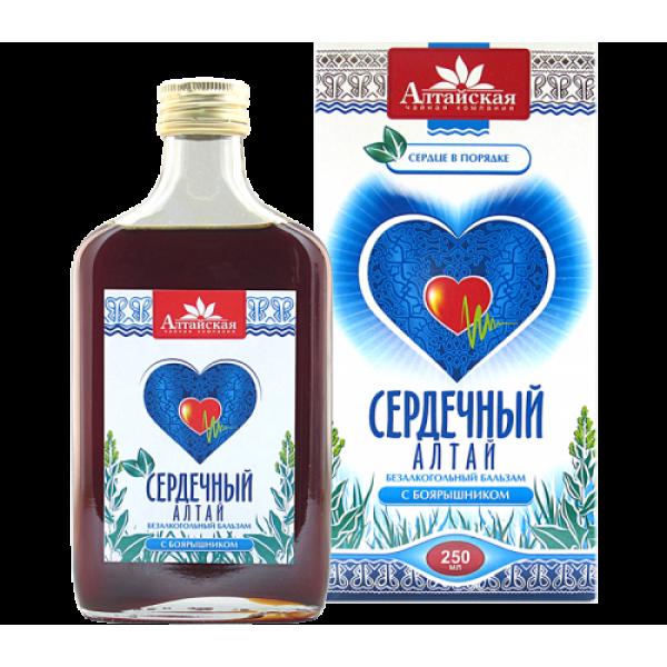 """бальзам """"Сердечный"""" Алтай 250мл"""