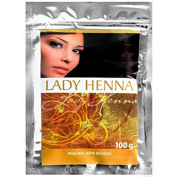 Маска для волос Амла LADY HENNA ,100гр