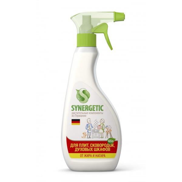 Средство чистящее, гелеобразное, биоразлагаемое для кухонных плит SINERGETIC 0.5л (триггер) н.э.