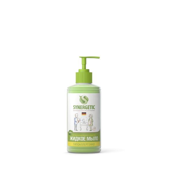 Мыло жидкое биоразлагаемое SINERGETIC для мытья рук 0,25 (дозатор) н.э.