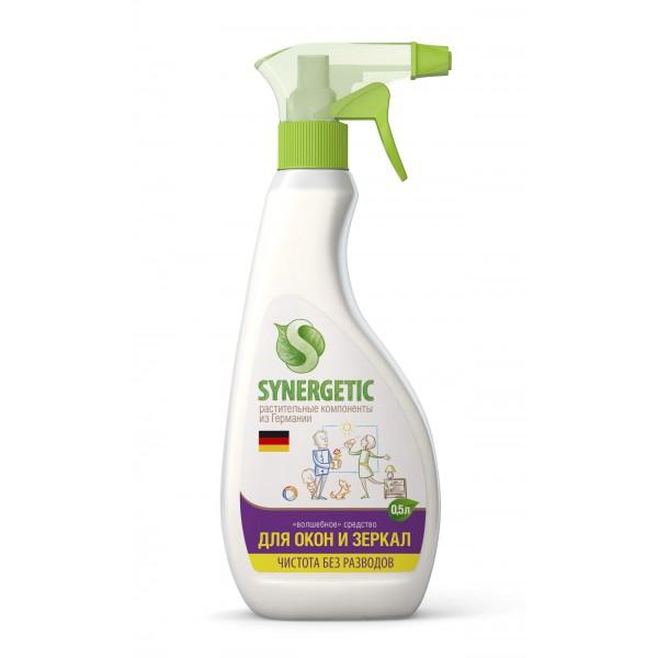 Средство биоразлагаемое для мытья окон, зеркал и бытовой техники SYNERGETIC