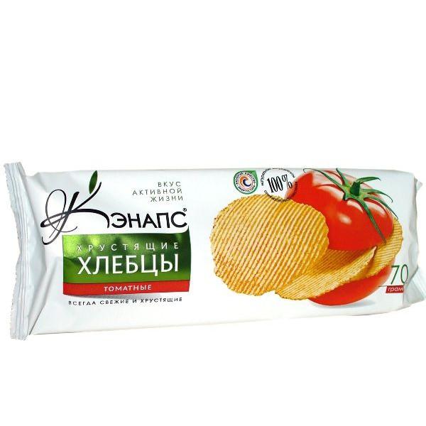 """Хлебцы хрустящие """"С томатом"""" 70гр"""