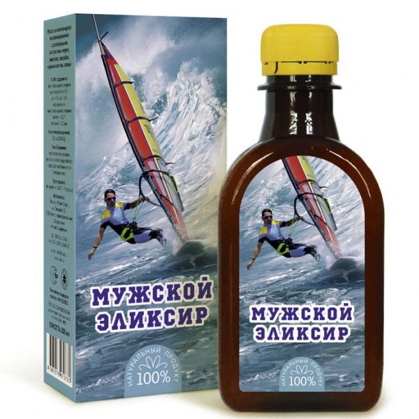 """Масло льняное """"Мужской эликсир"""" 0,2л"""