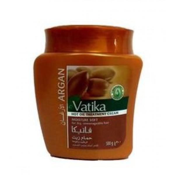 Маска для волос (мягкое увлажнение) с Аргановым маслом 500гр Vatica