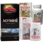 Пантопродукты, Мумие и Каменное масло (12)