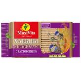 """Хлебцы хрустящие """"Из пяти злаков"""" с расторопшей  """"Maxi Vita"""" 150гр"""