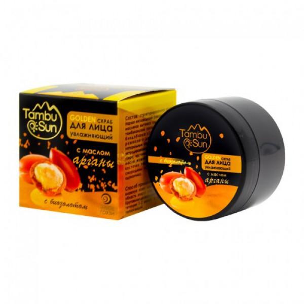 Тамбуканский «GOLDEN скраб» с маслом арганы 70мл